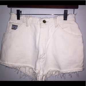URBAN OUTFITTERS high waisted denim shorts size 24